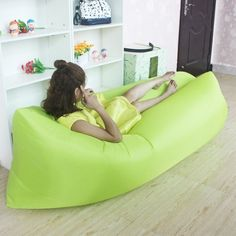 Sleeper Sofas Amazing Inflatable Air Sofa Bed Inflates in seconds Products Pinterest Sleeping bags Products and Beds