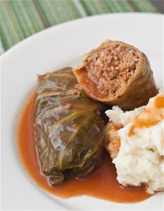 Lane would love these stuffed cabbage rolls almost as much as his stuffed peppers.