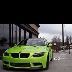 Custom M3, ONE OF THE ONLY CARS YOU CAN USE THIS COLOR GREEN WITH AND GET AWAY WITH IT