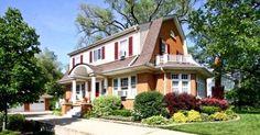 Stunning colonial type home in Park Ridge, #Illinois