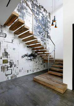 Die 58 Besten Bilder Von Treppenhaus Gestalten In 2019 Picture
