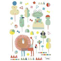 Stickers enfants animaux