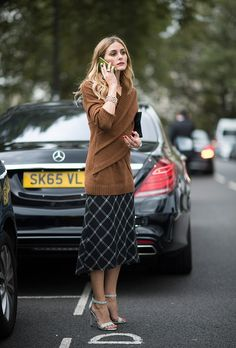 90 epic Fall street style outfits | London Fashion Week Spring2017 | Olivia Palermo