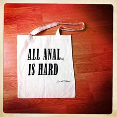Bag with message