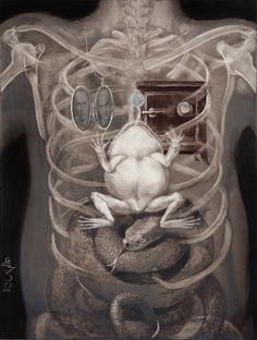 Rich Kids : stranger-than-kindness: X Rays of a Rich Man by Santiago Caruso The Lovely Bones, Rich Kids Of Instagram, Surreal Art, Retro, Dark Art, Surrealism, Photo Art, Design Art, Street Art