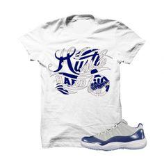 3019e2fec617d Hustle Hard Low Georgetown White T Shirt - illCurrency