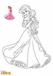 Résultat d'images pour coloriage princesses disney a imprimer