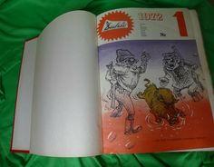 Comic Satire Humor Magazines 48ps Complete Set 1972 1973 DADZIS illustrated Book