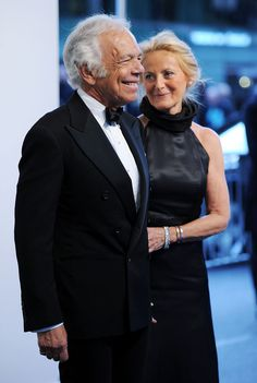 Still in love and aging gracefully...beautiful couple. The Laurens