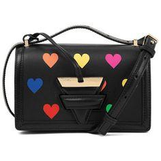 Black Small Barcelona Hearts Bag Loewe 4PFP3ZZ
