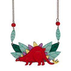 Scotty Stegasaurus  Necklace