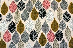 22 €/mBIO Baumwolle - Forest Floor von Stoffsalon auf DaWanda.com