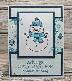 Luv 2 Scrap n' Make CardsLuv 2 Scrap n' Make Cards, Kendra Sand, Your Next Stamp, Handmade Christmas Card