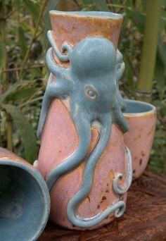 Cephalopod Sake Set