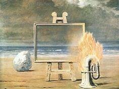 Rene Magritte - The Fair Captive, 1947  René Magritte : More At FOSTERGINGER @ Pinterest
