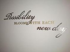 Your Possibilities Could Bloom With Each New Day