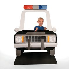 Police+Car+Photo+Stand-Up+-+OrientalTrading.com