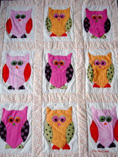 another owl quilt