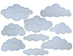 Πώς να βάψετε σύννεφα στους τοίχους ή την οροφή5