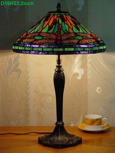 Dragonfly Tiffany Lamp  16S4-45NT327