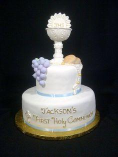 pastel para primera comunión7