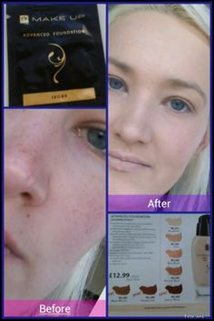 Advanced Mineral Foundation. To order please visit www.facebook.com/mahora.network