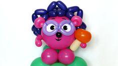 """Ёжик смешарик из шаров 12"""" / Hedgehog Chikoriki of balloons"""