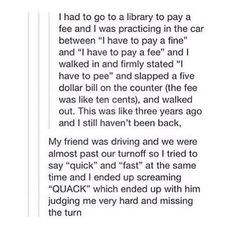 Omg I laughed so hard I hurt my head!!!