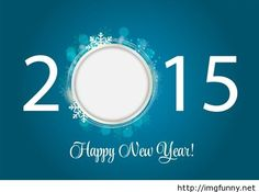 Happy New Year snowflake wallpaper 2015