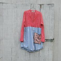 How To Make Upcycled Clothing | upcycled clothing funky dress eco dress tattered artsy dress upcycled ...