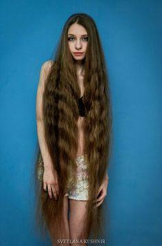 Inna Vasylkivska #longhair