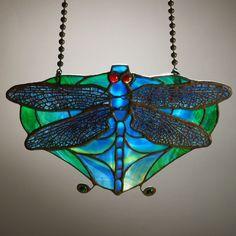 Lamp screen, c. Tiffany Studios, New York, 6 x 10 in.