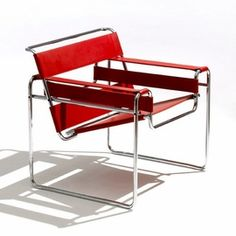 Chapter 24: Red Wassily Chair. Bauhaus