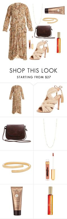 """Pretty & Feminine / summer style"" by cathy-ranjan ❤ liked on Polyvore featuring Zimmermann, Schutz, Argento Vivo, Paradigm, Nasty Gal, Guerlain and Kate Spade"