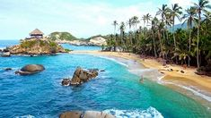 Book online safely at Tayrona National Park with Discounted Rates ➤ We offer the Best Hotels in Santa Marta Colombia ✓ Cheapest Rates available Directly from us ✓ Call Now! Sierra Nevada, Places To Travel, Places To See, Tayrona National Park, Santa Marta, Beautiful Park, Caribbean Sea, Best Hotels, South America