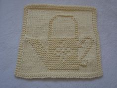 Looking for your next project? You're going to love Watering Can Dishcloth by designer bubweez2745645. - via @Craftsy