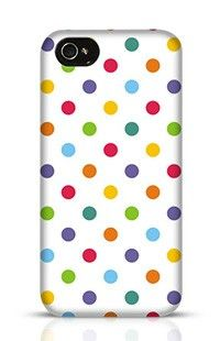Colorful Polka Dots Apple iPhone 4s Phone Case