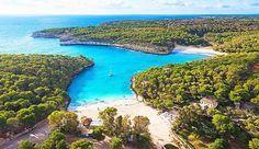 Der Strand S'Amarador befindet sich in einem Naturschutzgebiet