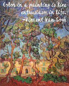 Van Gogh quote!