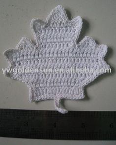 Free Maple Leaf Potholder Crochet Pattern