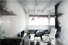 Industriální interiér bytu Autor: Olga Pokorná