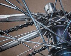 ap drawing | Tumblr Ap Drawing, Still Life Drawing, Bicycle Drawing, Bicycle Art, A Level Art Sketchbook, 8th Grade Art, Value In Art, Ap Studio Art, Mechanical Art