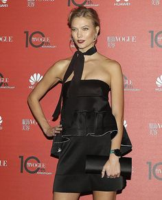 Karlie Kloss Vogue Chine Party