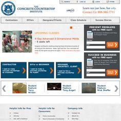 concretecountertopinstitute.com