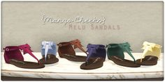 Melu Sandals full release | Flickr - Photo Sharing!