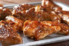 BBQ-Ranch Chicken Wings recipe