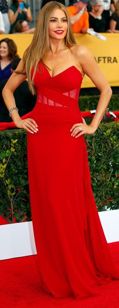 Sofia Vergara at 21st Annual SAG Awards 2015