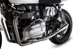 Triumph Motorcycles British Customs 2-into-1 Exhaust System