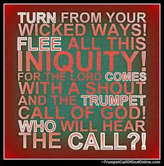 "Volume 1 ""Return Home... Your Father Calls"" ~ TrumpetCallofGodOnline"