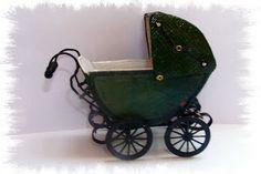 Miniaturen Beatrice: Maak een kinderwagen / DIY poppenwagen